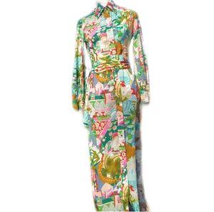 ✨HP✨Vtg Exquisite Lanvin 1960s Dress